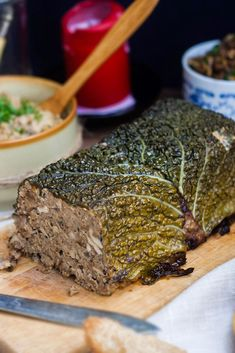 Vegans Nerd - Kitchen Plant: Pate with white beans with mushrooms and walnuts Butter Cheese, Nut Butter, Kitchen Plants, White Beans, Meatloaf, Vegan Recipes, Vegan Food, Main Dishes, Clean Eating