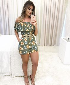 Swans Style is the top online fashion store for women. Shop sexy club dresses, jeans, shoes, bodysuits, skirts and more. Casual Wear, Casual Outfits, Cute Outfits, Fashion Outfits, Womens Fashion, Casual Dresses, Chor, African Fashion, Casual Looks