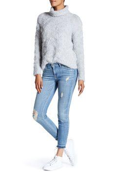 Whiskered Skinny Jean