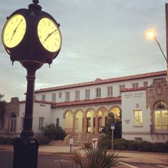 Marianna Post Office. Old Florida, Florida Home, Marianna Florida, Outdoor Clock, Post Office, Big Ben, To Go, Building, Clocks