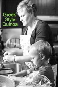 Greek syle Quinoa recipe!