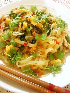 簡単!タイ料理 パッタイ【ver.UP】 by yurizumi [クックパッド] 簡単おいしいみんなのレシピが232万品