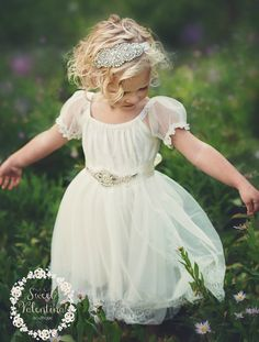 Flower Girl Dress Flower Girl DressesCountry Rustic Wedding
