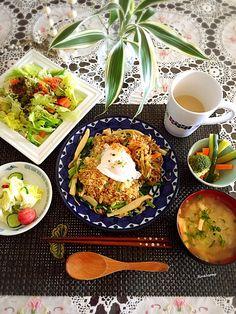 Tina Tomoko's dish photo 朝ごはん http://snapdish.co #SnapDish