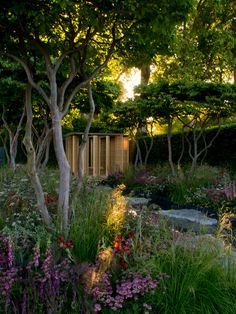 Laurent-Perrier Chelsea flower show 2011 by Luciano Giubbilei, photography by John Davies