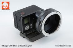 Back Bone Cine Mod GoPro Hero 3. Nikon Lens Mount Adapter. «  Wide Open Camera