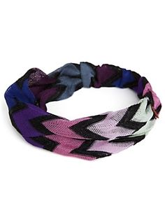 Missoni Headband @Intermix so cute!! I have it and it is confortable