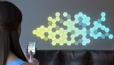 Modular LEDs that you arrange yourself, link together, and control via Bluetooth and smartphone apps. I would have sold my little brother for a set of these when I was a kid. Hell, I'm not ruling it out today!