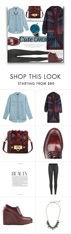 """""""Oh Yes, Leggings ARE Pants!🤗"""" by sherieme ❤ liked on Polyvore featuring 7 For All Mankind, Zadig & Voltaire, Anna Sui, Jil Sander and J.Crew"""