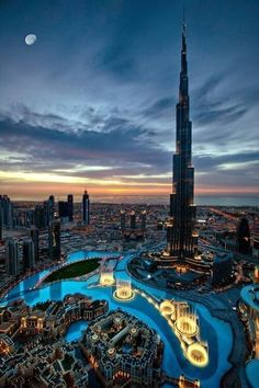Burj Khalifa, Dubai, Luxury Honeymoon Vacation Idea.