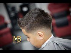 KIDS HAIR CUT | DROP FADE | TUTORIAL - YouTube
