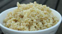 Párolt bulgur Vegan Vegetarian, Vegetarian Recipes, Snack Recipes, Healthy Recipes, Quinoa, Grains, Rice, Favorite Recipes, Pasta