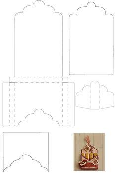 Best Origami Bag Pattern Templates I - Diy Crafts Paper Box Template, Card Templates, Origami Templates, Diy Gift Box, Diy Box, Gift Boxes, Origami Bag, Box Patterns, Useful Origami