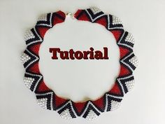 How to Make peyote wave necklace (TUTORIAL) - YouTube