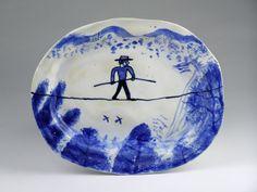 Stephen Bird ceramics via I'm Revolting