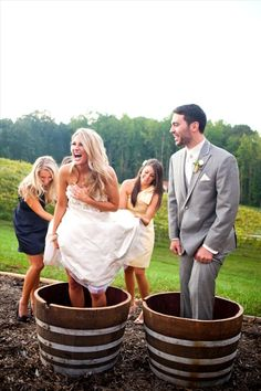 Potomac Point Winery.. Stomp grapes on your wedding day for the Winery to make wine for you to drink on your anniversary