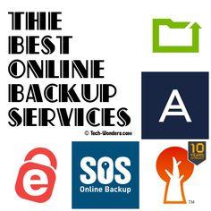 The Best Online #Backup Services http://www.tech-wonders.com/?p=4698