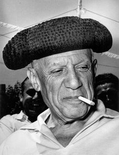 Picasso. Photo: Lucien Clergue.