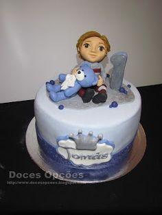 Doces Opções: Bolo do 1º aniversário do Tomás