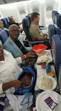Because airline food sucks…LMAO..ROTF!!!!