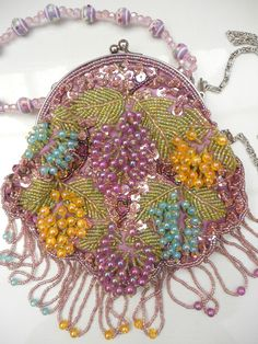 A BUTLER & WILSO BEADED EVENING BAG ~ SOLD ON MY EBAY SITE LUBBYDOT1
