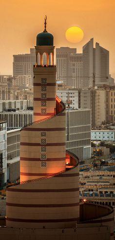 Islamic center minaret - Fanar, Doha, Qatar