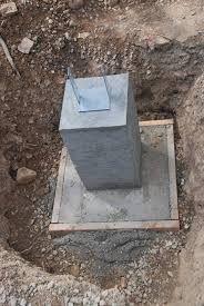 Resultado de imagen para pier and footing Concrete Sheds, Concrete Footings, Building Foundation, House Foundation, Pole Barn Designs, Barn Kits, Diy Storage Shed, Steel Structure Buildings, Pole Barn Homes