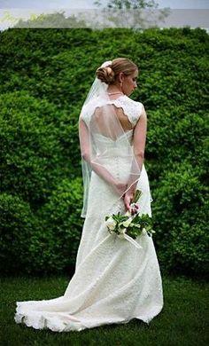 Used Priscilla of Boston Wedding Dress Nora, Size 4