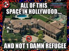 Let's start dropping the illegals and refugees right into these locations asap