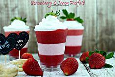 Simple Strawberry & Cream Parfait #Recipe