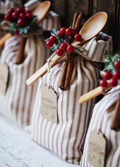 Handcrafted sugar cookie sack are simple to make and adorable to gift. Add holiday embellishments for a festive touch. Christmas Gifts For Your Boss, Thoughtful Christmas Gifts, Handmade Christmas Gifts, Homemade Christmas, Simple Christmas, Christmas Crafts, Christmas Presents, Holiday Gifts, Christmas Ideas