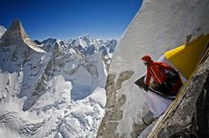 What Was Photographer Jimmy Chin's Scariest Climb?