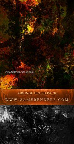 Grunge Set 5 - Download  Photoshop brush http://www.123freebrushes.com/grunge-set-5/ , Published in #GrungeSplatter. More Free Grunge & Splatter Brushes, http://www.123freebrushes.com/free-brushes/grunge-splatter/ | #123freebrushes