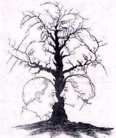 Sometimes nature plays fun with our brain and eyes to create the Optical Illusions. Here I am posting some of the Natural Optical Illusions. However these are not fully Natural Optical Illusion but edited files to give the effect of Optical Illusion. Image Illusion, Illusion Pictures, Illusion Art, Illusion Kunst, Hidden Pictures, Hidden Face, What Do You See, Many Faces, In The Tree