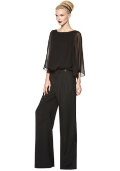 LEATHER WB HIGH WAIST DOUBLE PLEAT PANT | Alice + Olivia |