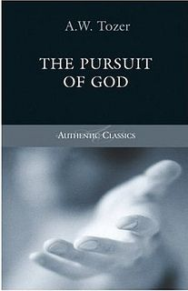 """""""God never hurries. There are no deadlines against which he must work. Only to know this is to quiet our spirits and relax our nerves."""" ―A.W. Tozer, """"The Pursuit of God"""""""