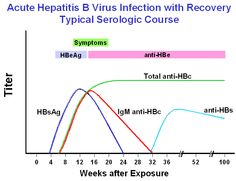 Acute HB with recovery