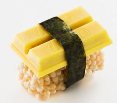 Japoneses inventam o Sushi de Kit Kat - Chocoblog