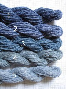 Making blues with black beans! #dying #natural #yarn
