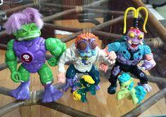 Flea Market Finds - Trolls evil Zok, Turtles toys, and mlp toys.