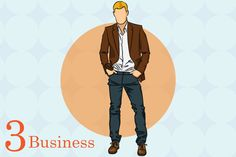 mens business casual style