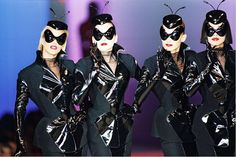Mugler Babes... When Thierry was at the helm...(we DO love Nicola's reign as well, though...)