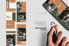 Coffee podcast talk ig stories and post keynote template Instagram Design, Instagram Story, Instagram Posts, Instagram Feed, Company Presentation, Coffee Barista, Editing Pictures, Marketing Materials, Keynote Template