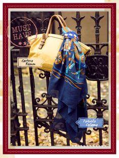 Cartera Bamm / Pañuelo Calama #musthave #indiastyle