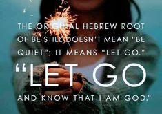 Let Go! www.inchristiamshe.com