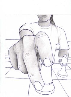 foreshortening.student work