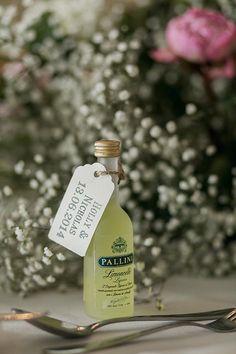 Limonchello Favours #wedding #favours