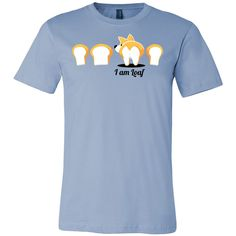 Pet - Immortal Unisex Corgi Cute Puppy I AM LOAF - Men Short Sleeve T Shirt - TL00824SS