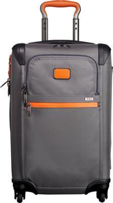 Tumi Alpha 2 International Expandable 4 Wheeled Carry-On Grey/Orange - via eBags.com!