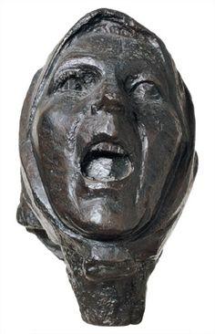 Cabeza de Monserrat gritando. Julio González